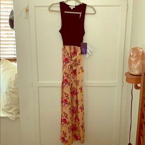 Love Fire Summer Maxi Dress Size Medium